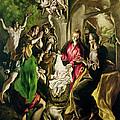 Adoration Of The Shepherds by El Greco Domenico Theotocopuli