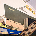 Advertisement For The Holland America Line by Hoff
