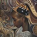 African Spirits II by Ricardo Chavez-Mendez