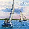 Afternoon Sail by Karol Wyckoff