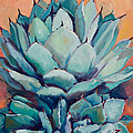 Agave With Pups by Athena  Mantle