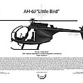 Ah-6j Little Bird by Arthur Eggers