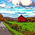 Ah...west Virginia Line Art by Steve Harrington