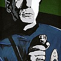 Aiming His Phaser by Judith Groeger