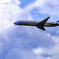 Air Force One - Mcdonnell Douglas - Dc-9 by Jason Politte