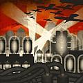 Air Raid by Milton Thompson