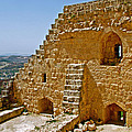 Ajlun Castle in Jordan Print by Ruth Hager