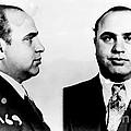 Al Capone Mug Shot by Edward Fielding