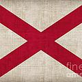 Alabama State Flag by Pixel Chimp