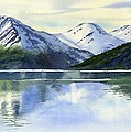 Alaska Mountain Reflections by Sharon Freeman