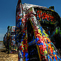 Amarillo -  Cadillac Ranch 006 by Lance Vaughn