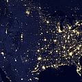 America At Night by Adam Romanowicz