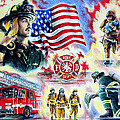 American Firefighters by Andrew Read