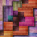 American Flags by Tony Rubino