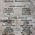 American Revolutionary War Generals by Olivier Le Queinec
