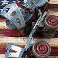 American Roller Skates by Garry Gay