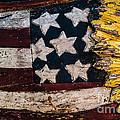 Americana - Stars and Stripes Print by Dean Harte