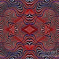 Americana Swirl Design 7 by Sarah Loft