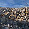 Amman Down town Print by Luca Battistella