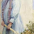 An Italian Peasant Girl by Ada M Shrimpton