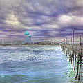 An Ocean of Clouds Print by Betsy A  Cutler