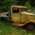 An Old Flatbed by Jeff  Swan