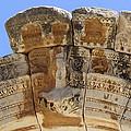 Ancient Medusa on arch-Turkey