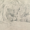 Ancient Trees Lullingstone Park by Samuel Palmer