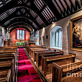 Ancient Welsh Church by Adrian Evans