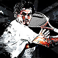 Andy Murray Print by The DigArtisT