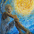 Angel Moon II by Nik Helbig
