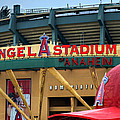 Angel Stadium by Ricky Barnard