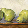 Anjou Pears by Lucie Bilodeau