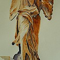 Another Perspective Of The Winged Lady Of Samothrace  by Geeta Biswas