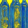 Antibes Blue Bottles by Ben and Raisa Gertsberg