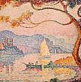 Antibes  Petit Port de Bacon Print by Paul Signac