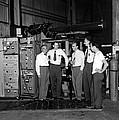 Antiproton Discovery Team by Science Photo Library