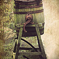 Antique Butter Churn by Linsey Williams