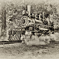 Antique Train by Bill Wakeley