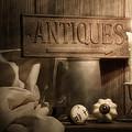 Antiques Still Life by Tom Mc Nemar