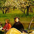 Apple Blossoms by John Everette Millais
