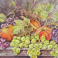 Apples And Grapes by Summer Celeste