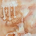Arabesque Coffee Pots And Jewellery IIi by Beena Samuel