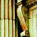 Archatectural Elements  Digital Paint by Debbie Portwood