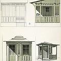Architecture In Wood, C.1900 by Richard Dorschfeldt