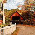 Architecture - Woodstock Vt - Entering Woodstock by Mike Savad