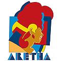 Aretha Franklin No.05 by Caio Caldas