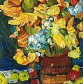 Arizona Sunflowers by Sherry Harradence