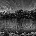 Arkansas River Panorama by  Caleb McGinn