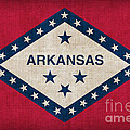 Arkansas State flag Poster by Pixel Chimp